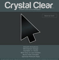 Crystal Clear v4.1 | Material Dark