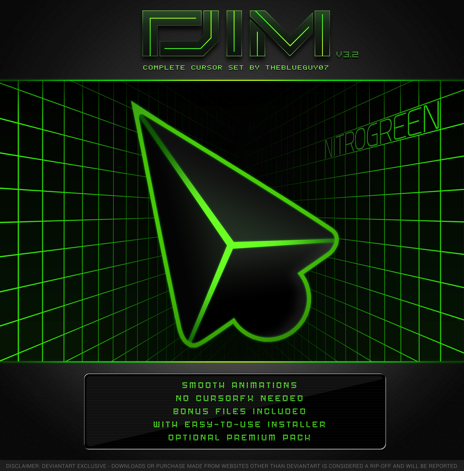 DIM v3.2   NitroGreen by BlooGuy