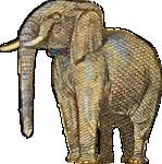 Elephant fun image (animation)