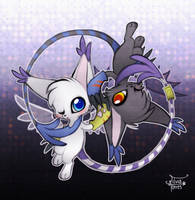 Entre virus y vacunas by Mouse-and-BlackGato