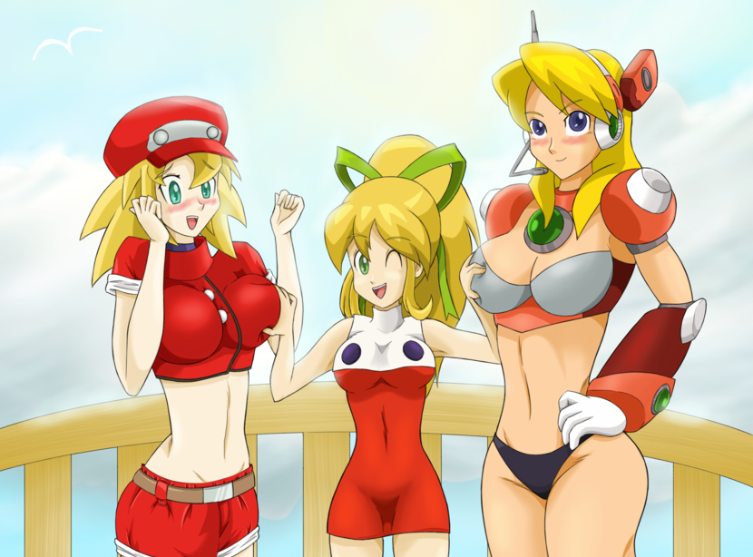 Deviantart Megaman Alia Inflation: MegaGirls By Zelgi On DeviantArt