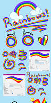 Free Rainbow brush with user colors
