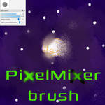 Free PixelMixer brush for FireAlpaca/Medibang