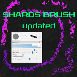 Free Shards brush for FireAlpaca/Medibang