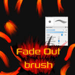 Free Fade Out brush for FireAlpaca/Medibang