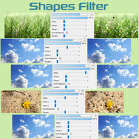 Free Shapes Filter (brush) for FireAlpaca/Medibang by Nuubles