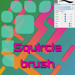Free Squircle brush for Firealpaca/Medibang by Nuubles