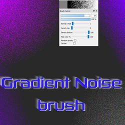 Free Gradient Noise brush for FireAlpaca/Medibang by Nuubles