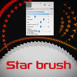 Free Star brush for FireAlpaca/Medibang by Nuubles