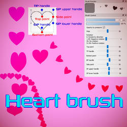 Free Heart brush for FireAlpaca/Medibang by Nuubles