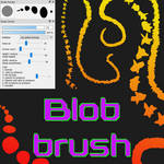 Free Blob brush for FireAlpaca/Medibang by Nuubles