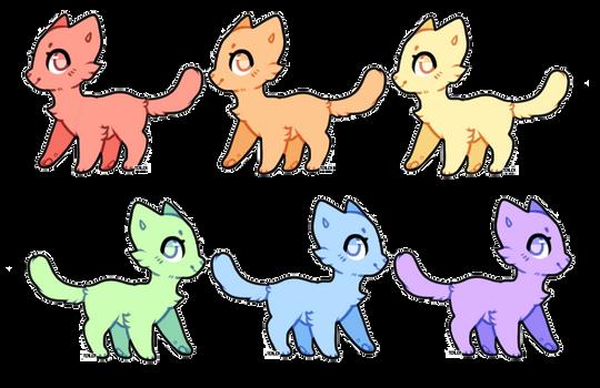 Cat Adopts Editable by Tealea