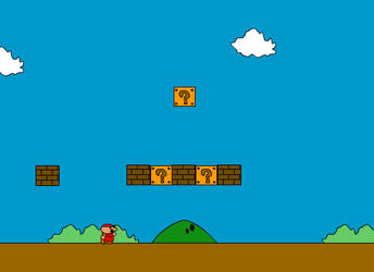 Mario 1-1 by Elcool