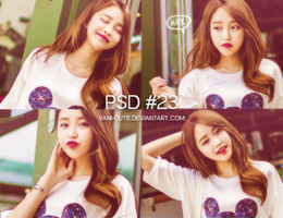 PSD COLORING #23 by vani-cute
