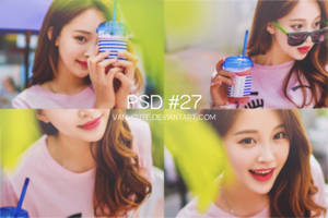 PSD COLORING #27 by vani-cute