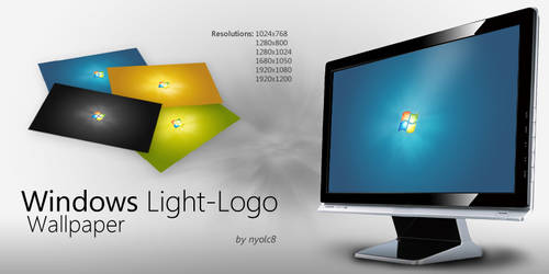 Windows Light-Logo Wallpaper
