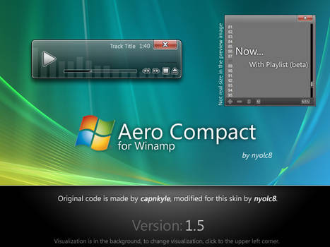Aero Compact 1.5 for Winamp
