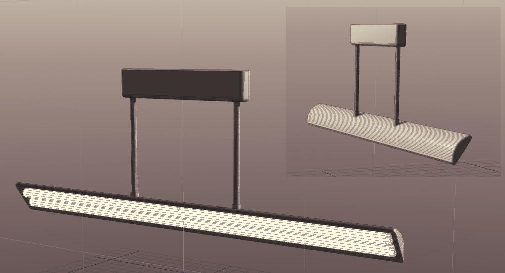 angled ceiling light 3d file by humbertthehorse on deviantart