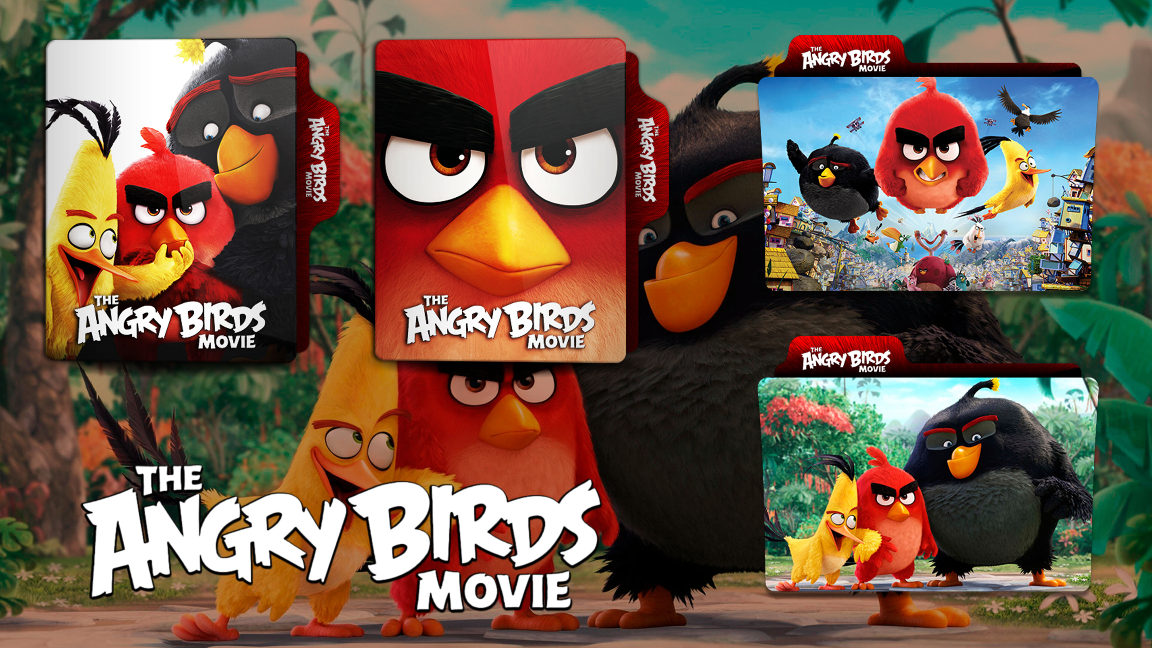 The Angry Birds Movie 2016 Folder Icon By Hns Rock On Deviantart