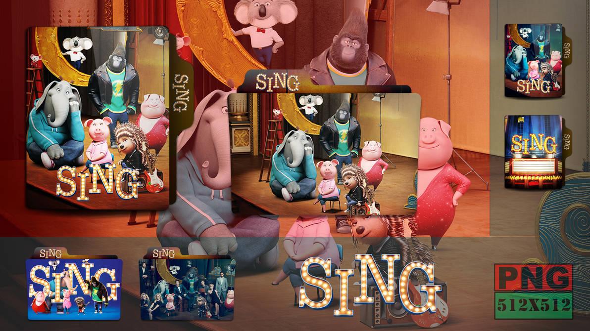 Sing 2016 Folder Icon By Hns Rock On Deviantart