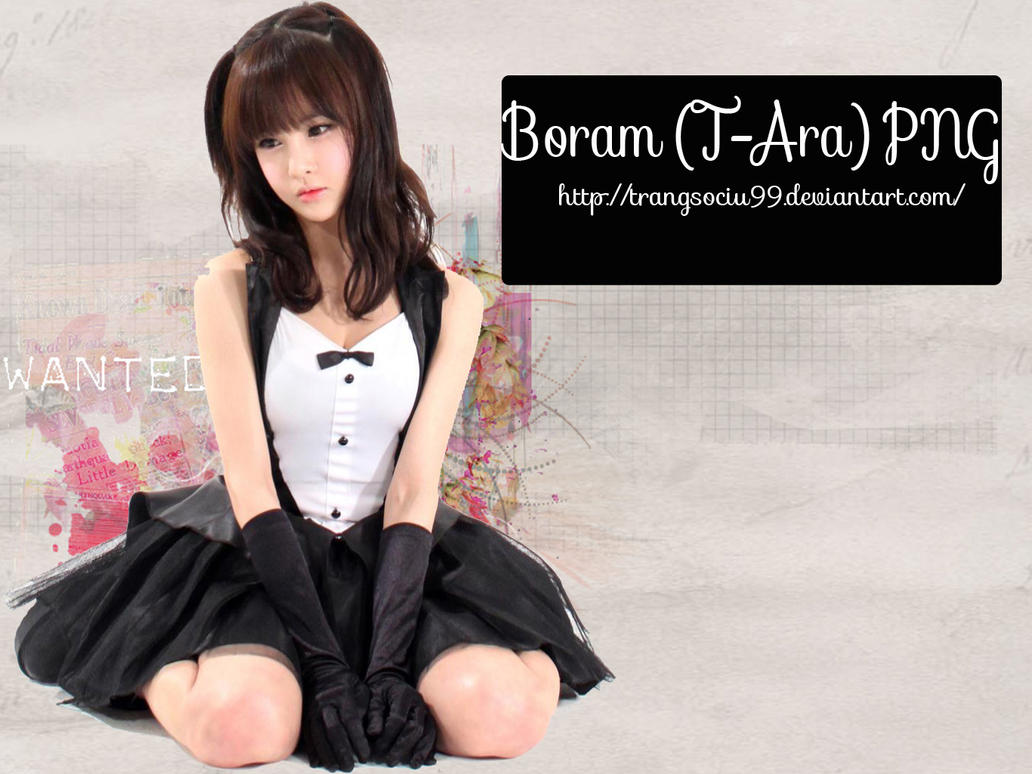 Boram (T-Ara) PNG By Zany by trangsociu99 on DeviantArt