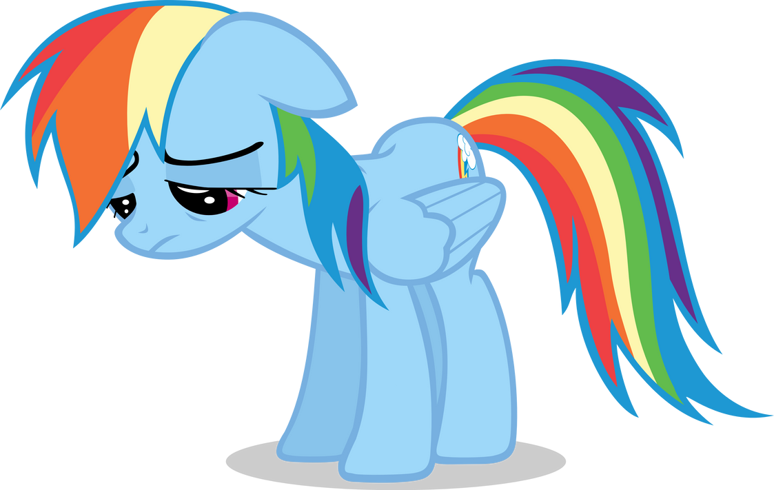 IMPORTANT NOTICE: The Slums are LGBTQIA Friendly Sad_rainbow_dash_by_dasprid-d6xdkld