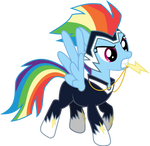 Power Pony: Rainbow Dash (Zapp)