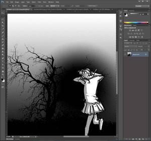 Another Way to do Screentone/Halftone Photoshop