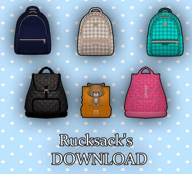 [MMD] Rucksack's DL
