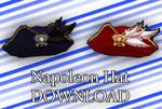 [MMD] Napoleon Hat DL