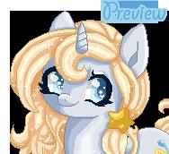 Animated Pony Pixel doll Amiera by Hoshi-Hana
