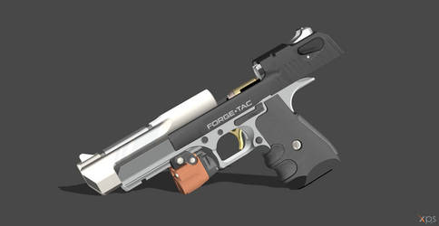 Desert Eagle - (Big Iron) Cerastes by VECTORsan