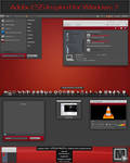 Pre Black-red for Windows 7