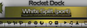 White Split for Rocket Dock