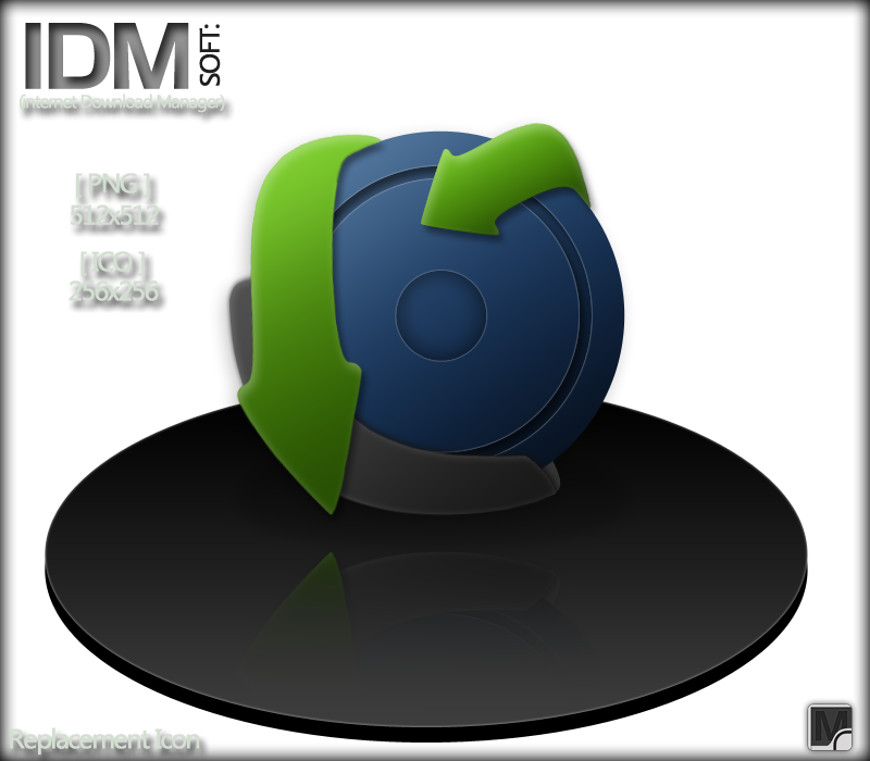 IDM soft icon by vi20RickrMetal12us