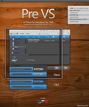 PreBlack VS 1.1 for Windows 7