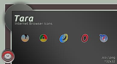 Tara Internet Browsers icon by vi20RickrMetal12us