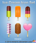 Icecream icon set