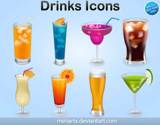 Drinks by Miniartx
