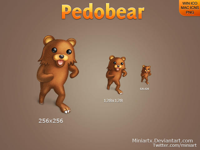 Pedobear by Miniartx