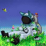 [Pixel Art] The Lost Cosmonaut
