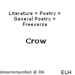 Crow by dreamersunited