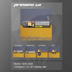 Tech oodl CD Art Display skin