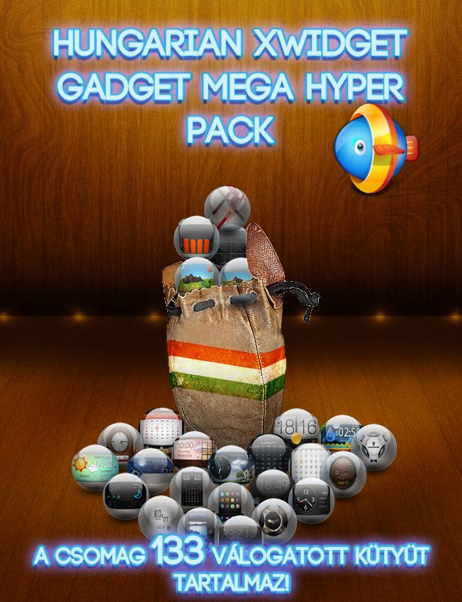 Hungarian Xwidget Hyper Mega Pack by sztewe