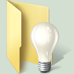 Lightbulb Windows 7 Folder By Terraromaster On Deviantart