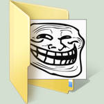 trollface windows 7 folder