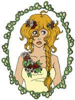 FlowerGirl by Hanna-Pirita