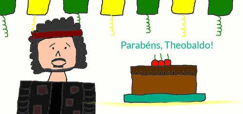 Parabens, Theobaldo! by SarahVilela