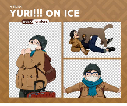 Yuri!!! on Ice - Renders Pack #1