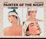 Painter of the Night - Renders Pack #2